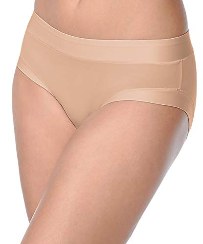 Warner's Women's Easy Does It Brief Hipster, Toasted Almond, XS/S ()