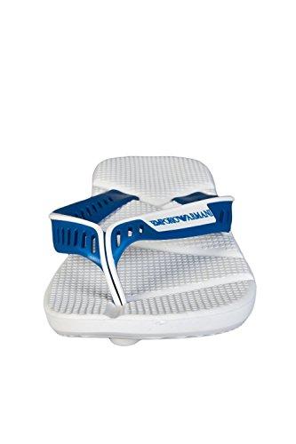 Sandalias De Diseñador De Emporio Armani Hombres 2116625 480 P Blanco