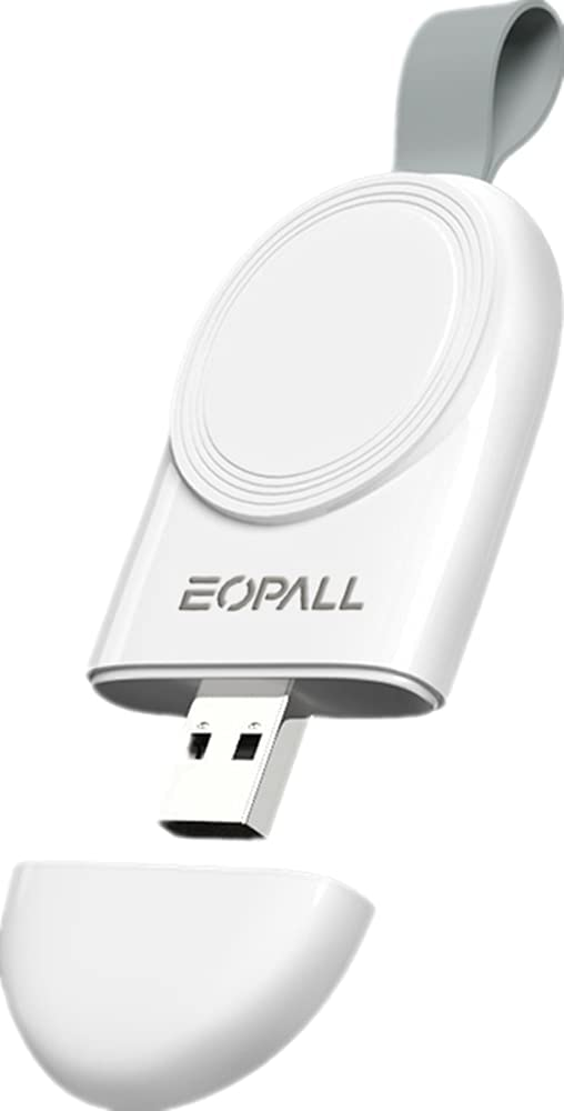 Portable USB Wireless Charger for Apple Watch, Magnetic Cordless iwatch Charger Compatible with Apple Watch Series 6, Se, 5, 4, 3, 2, 1, Nike+, 44mm, 42mm, 40mm, 38mm, by EOPALL
