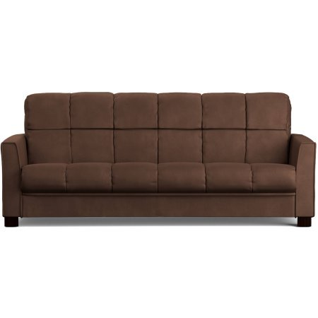 Baja Convert-a-Couch Sofa Sleeper Bed - Dark Brown