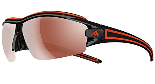 adidas eyewear - Evil Eye Halfrim Pro shiny black/orange