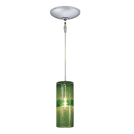 jesco lighting kit qap408 gnsn 1 light low voltage pendant and