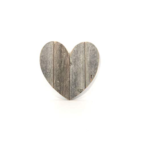 """BarnwoodUSA Rustic Farmhouse Wood Heart 