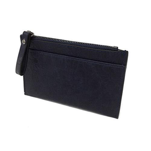 idea morbida per elegante tracolla opaca blu giorno donna regalo Angkorly in Borsa portafoglio chic pratica semplice ogni elegante pelle sobria semplice a a Borsa UXS16XwOq