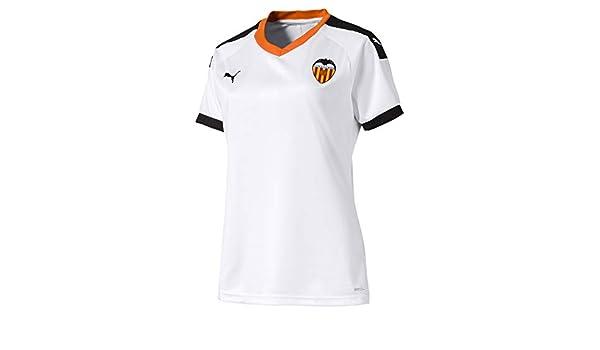 PUMA Valencia CF Primera Equipación 2019-2020 Mujer, Camiseta ...