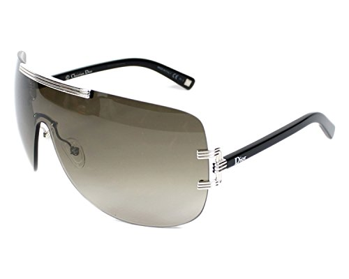 Dior 84J Black Diorgraphix1 Visor Sunglasses