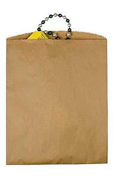 Natural Merchandise Paper Bag - SSWBasics Large Natural Kraft Paper Merchandise Bags - 12