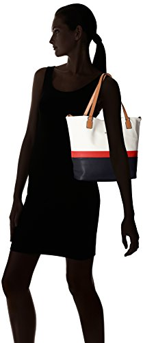 Mustang Blu Emily Lvo Borse Dark Shopper Blue Donna Pittsburg Tote B1rqBH