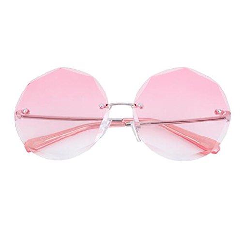 Espejo la Beat Vintage de Travel Gafas Anti de 1 Marco HOME Reflectante de Sol 1 Espejo Decorativo Mar UV400 Gran polarizada Movimiento Color QZ Moda Street Luz Personalidad qATxYwn