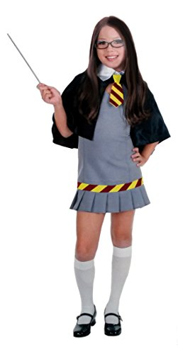 Child Wizard School Girl Costume - SMALL