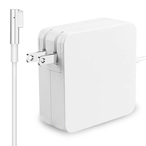 "TrainPro 60W MagSafe 2 Replacement 60W Mac Power Cable Adapter Charger with Extra Long 5 ft. Cord. Compatible with MacBook Air and MacBook Pro Laptops with ""L-tip"" Style Cord Connector. Guaranteed!"