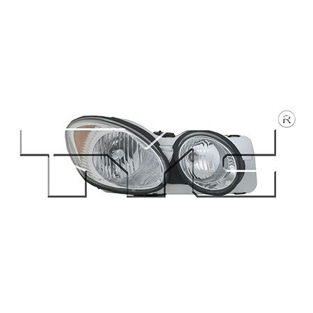 CarLights360: Fits 2005 2006 2007 Buick LaCrosse Headlight Assembly Passenger Side (Right) NSF Certified w/Bulbs - Replacement for GM2519142