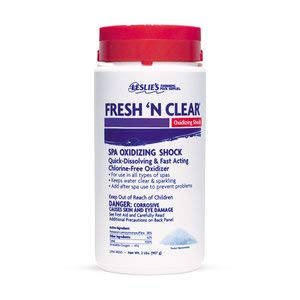 Clear Spa - Leslie's Fresh 'N Clear Oxidizing Spa Shock 2 Lb