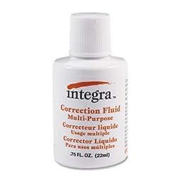 Multipurpose Correction Fluid, White [Set of 6]