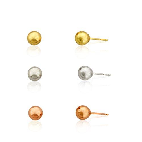 Ball Stud Earrings Free Ship - 3