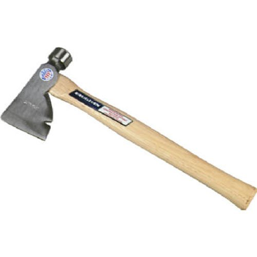 Vaughan RB 28 Ounce Rig Builders Hatchet, Hickory Handle for heavy construction, 17 Inch Long.