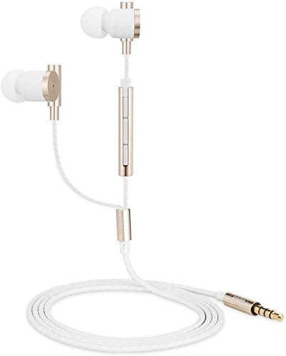 Earbuds Ear Buds in Ear Headphones Wired Earphones with Microphone Mic Stereo and Volume Control Waterproof Wired Earphone MUEY003