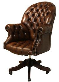 chesterfield directors leather office chair antique autumn tan antique leather office chair