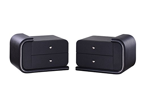 Matisse VX1 Nightstand-Black (Left side Or Right side)