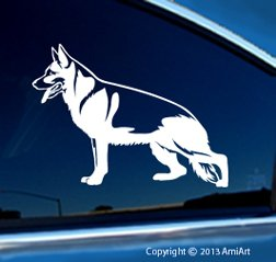 Amazoncom GERMAN SHEPHERD Dog Vinyl Decal For Cars Bumper - Vinyl decal stickers for cars