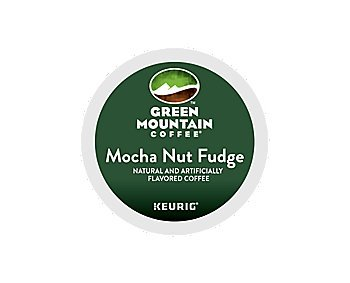 Green Mountain Coffee Mocha Nut Fudge, K-Cup Morsel Pack for Keurig Brewers 24-Count