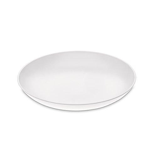 Koziol Rondo Tiefer Teller, 4er Set, Suppenteller, Kinderteller, Teller, Kunststoff, L 20.9 cm, Weiß, 3611525