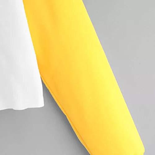 et avec blanc manches shirt Sumtter pour longues femmes chemisier Sweat capuche à nP7Wxngawz