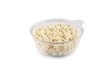 Práctico 2 en 1 para hacer palomitas máquina maker para crepes crepes Palomitero - Sartén para crepes Popcorn Maker con cuenco extraíble negro: Amazon.es: ...