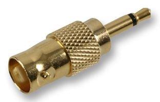 BNC SKT TO 3.5 JACK P GOLD PSG02771 By PRO SIGNAL ADAPTOR