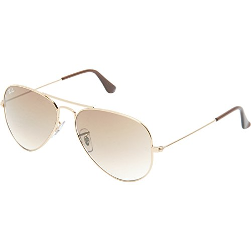 Ray-Ban Aviator Metal Sunglasses RB3025 001/51 - Arista Gold Crystal Brown Gradient - Medium Size 58mm Description change to:Ray-Ban Aviator Metal Sunglasses RB3025 001/51 - Arista Gold Crystal Brown