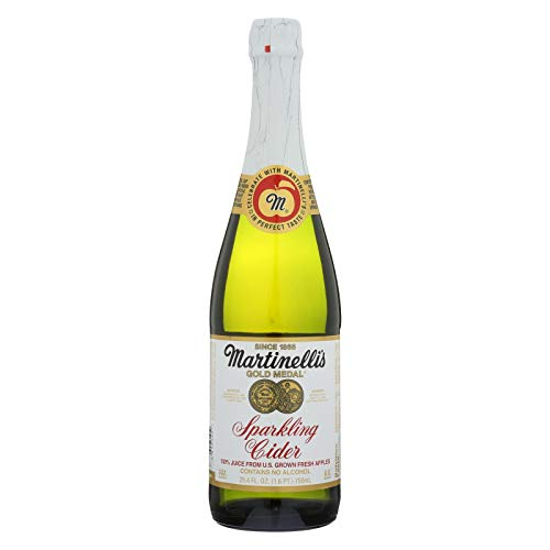 - Martinelli's Gold Medal Sparkling Cider (412446) 25.4 oz (Pack of 12)