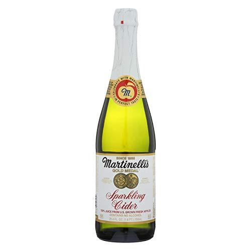 Martinelli's Gold Medal Sparkling Cider (412446) 25.4 oz (Pack of 12)]()