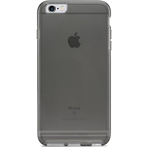 Transparent Grey iPhone 6s Case, GRAVITY Case for iPhone 6 / 6s, Transparent, Shock Absorbing, Scratch Resistant, Drop Protection - Transparent Gray