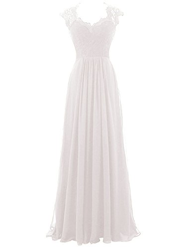 Ivory Bridesmaids Formal Gown - 8