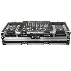 (Odyssey FZ19CDIW Coffin Case W/ Wheels 19 Inch DJ Mixer Coffin )