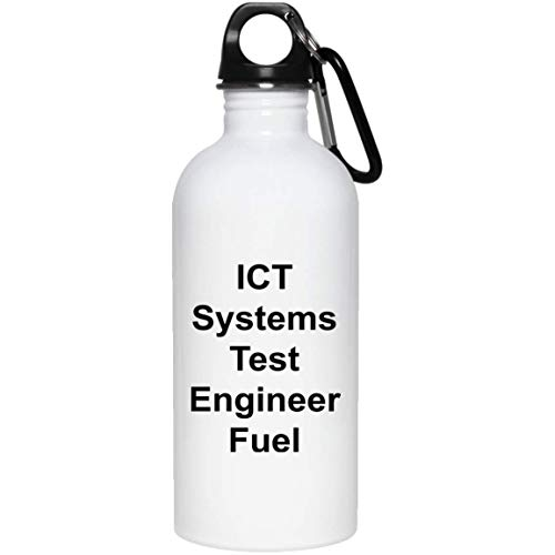 ICT Systems Test Engineer Water Bottle - 20 oz. Stainless Steel - Funny Novelty Gift Idea