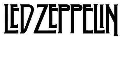 - Led Zeppelin Rock Band - Sticker Graphic - Auto, Wall, Laptop, Cell, Truck Sticker for Windows, Cars, Trucks