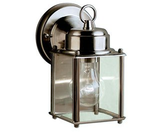 Kichler 9611SS Outdoor Wall 1-Light, Stainless Steel