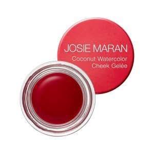 Josie Maran Coconut Watercolor Cheek Gelee (Travel (.095oz/2.7g), Pink Escape)