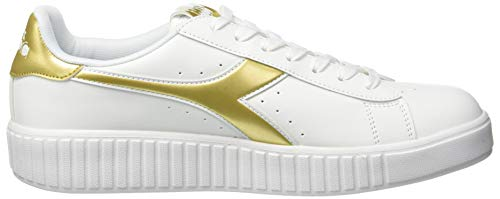 Graphic C1070 Game Oro Women's Bianco Gymnastics Step Shoes Multicolour Diadora tpz5xqwn