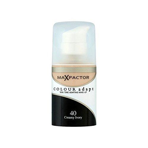 Max Factor Colour Adapt Foundation Creamy Ivory 40 (Pack of 6) - マックスファクターの色は、基礎クリーミーな象牙40を適応させます x6 [並行輸入品] B0713SNLT8