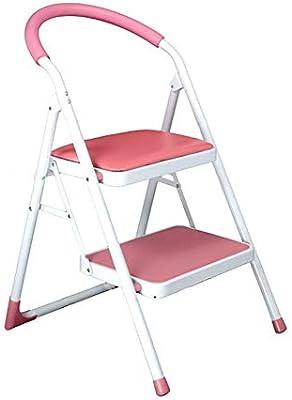 WOAINI Taburete for silla Escalera engrosada de 2 peldaños ...