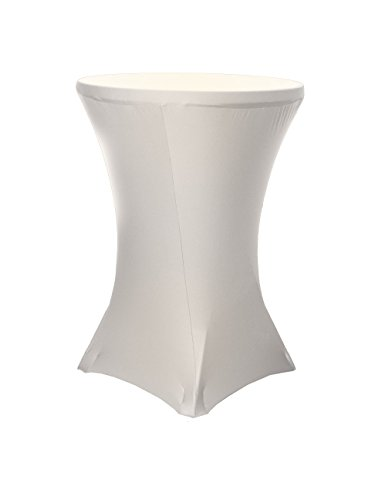 LA Linen Round Spandex Tablecloth 36