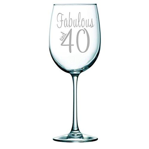 40 birthday wine glass - 4