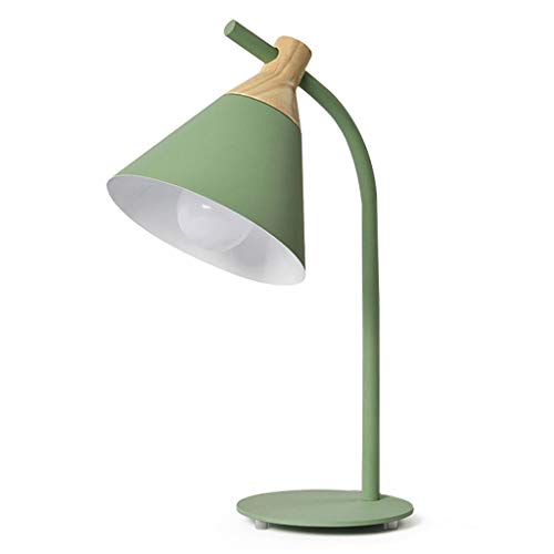 YLongFEI Lámpara de Mesa de Hierro Dormitorio Lámpara de ...
