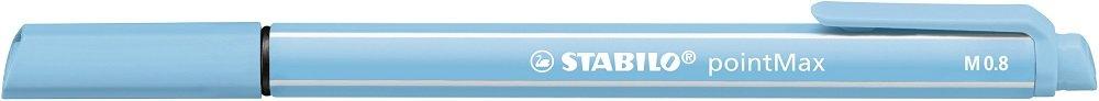 schwarz Filzschreiber STABILO pointMax 10er Pack