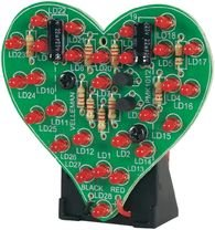 Flashing LED Sweetheart Kit