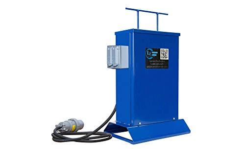 Transformer - 3000 VA - Converts 480V AC to 120V AC - (1) 20A GFCI Duplex Outlet ()