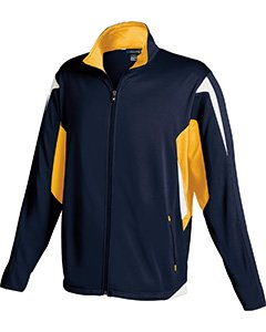 Holloway Youth Dedication Jacket , Navy|Gold, medium  by Holloway
