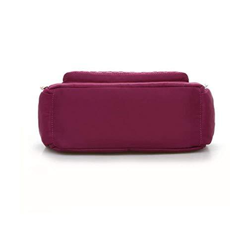 Imperméables Violet Pour Oblique Dames Jtsyhsac Red Récréatives rose De Foncé Nylon qwSgnTP6